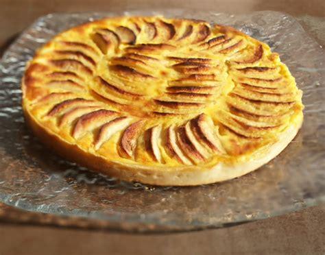 tarte aux pommes normande foodjee fr