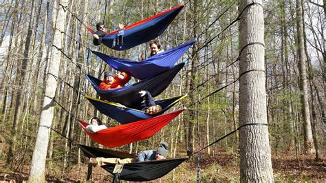 Eno Hammock Pictures by Stacking Eno Hammocks 6 High Try