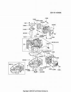 Kawasaki Fh500v Crankcase