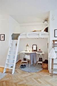 Hauteur Bureau Adulte : lit en hauteur avec bureau int gr les atouts ind niables illustr s en 39 photos ~ Melissatoandfro.com Idées de Décoration