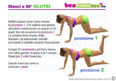 Ginnastica Interno Braccia by Esercizi Per Rassodare I Glutei