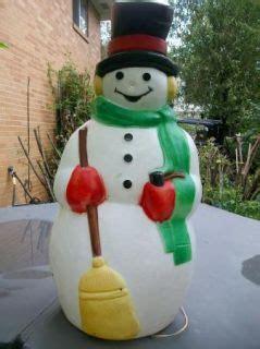 polar bear outdoor lighted blow mold christmas yard