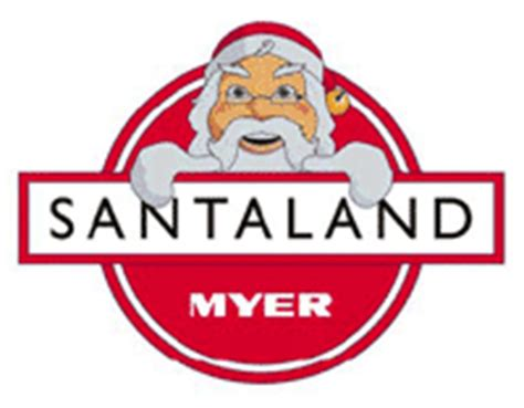 myer santaland christmas window
