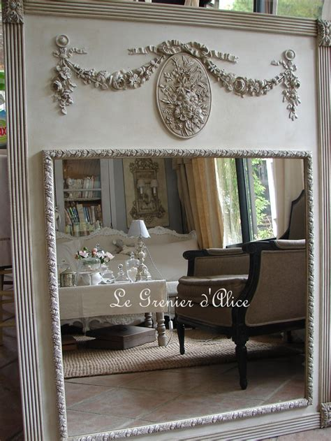 le shabby chic 17 best images about miroirs trumeaux mirrors shabby chic on sculpture shabby