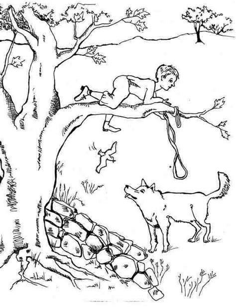 En De Wolf Kleurplaat by And The Wolf Coloring Sheet For A Homeschool