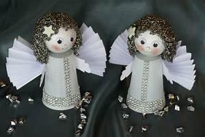 Engel Selber Basteln : engel angel basteln aus plastikbechern fl gel aus ~ Lizthompson.info Haus und Dekorationen