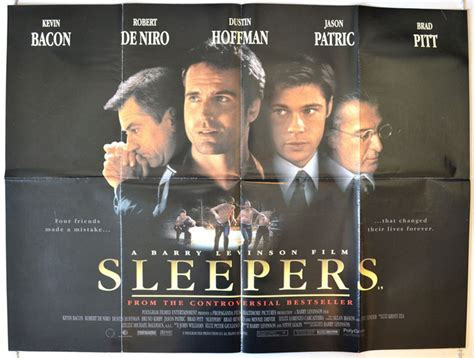 Sleepers Poster by Sleepers Original Cinema Poster From Pastposters
