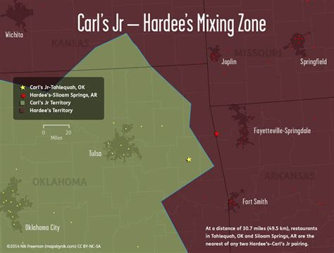 mapsbynik: The Hardee's–Carl's Jr Line: The Geography of ...