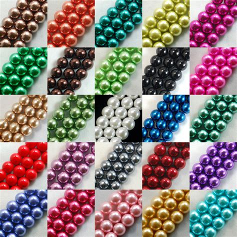100pcs Top Quality Czech Glass Pearl Round Loose Beads 3mm