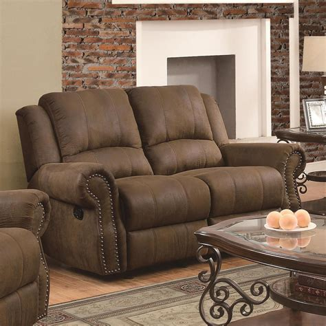 fabric reclining sofas and loveseats brown fabric reclining loveseat a sofa furniture