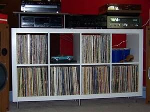 Bac A Vinyl : meubles rangement vinyls ~ Teatrodelosmanantiales.com Idées de Décoration