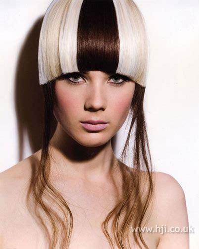 color block hair 52 best block color images on hairdos braids