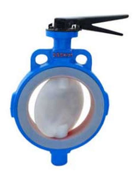 fep pfa ptfe lined butterfly valve manufacturer exporter supplier stockist