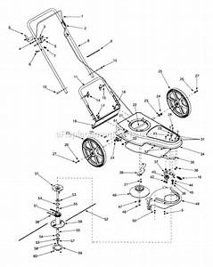Mtd 25a-208g013 Parts List And Diagram