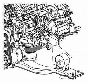 2008 Dodge Avenger Bracket  Engine Mount  Front  Rear   6