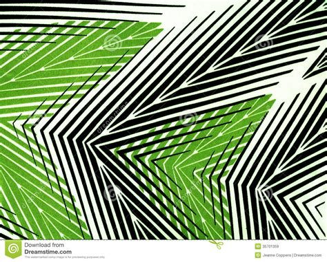 Black White And Green by Textile Striped Wallpaper Stock Image Image Of Striped