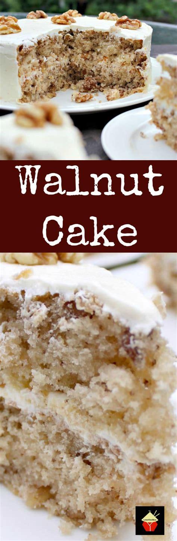 walnut cake   delicious easy recipe  cake