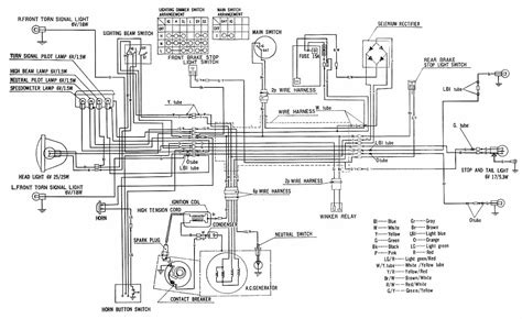 honda ct90 battery wiring diagram get free image about