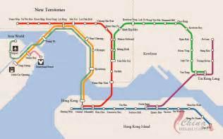 Hong Kong Subway Map