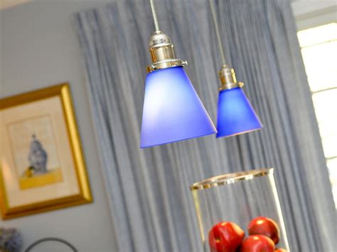 blue kitchen pendant lights photo page hgtv 4830