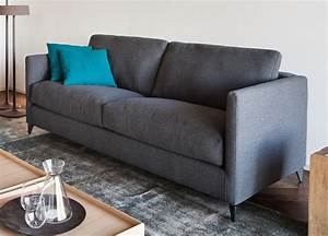 vibieffe zone slim sofa contemporary sofas italian sofas With slim sofa bed