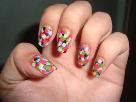 easy nail designs easy colorful nail ideas