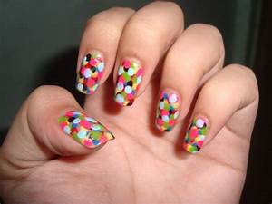 Easy Colorful Nail Art Designs   Makeup Tips and Fashion