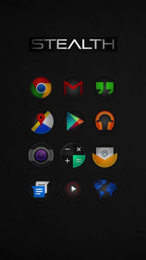 9 best android icons pack graphicloads
