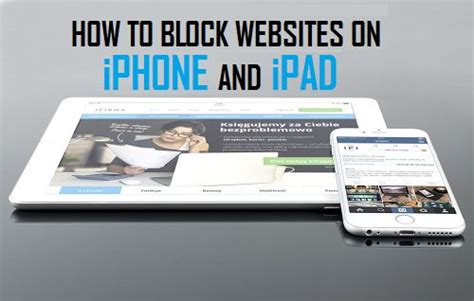 how to block a website on iphone how to block websites on your iphone and