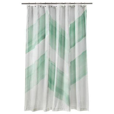 Target Curtains Nate Berkus by Nate Berkus Color Block Shower Curtain Mint I Target