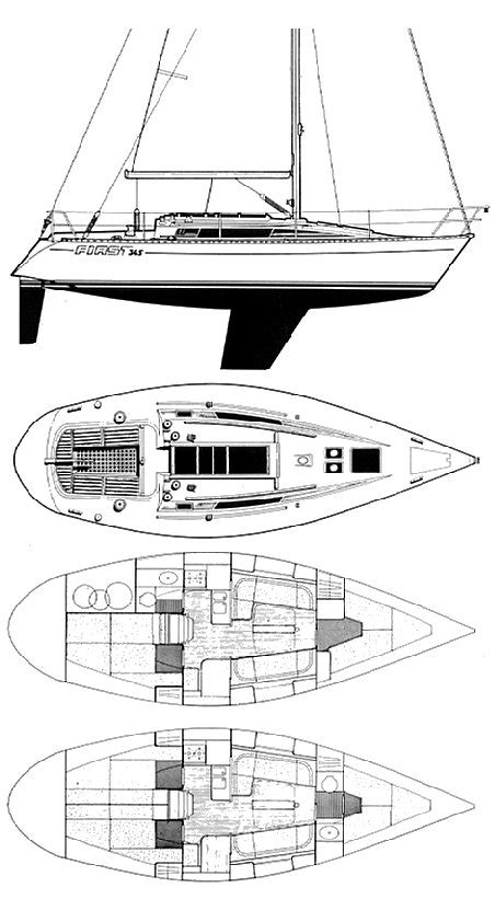 First 345 (beneteau) Sailboat Specifications And Details