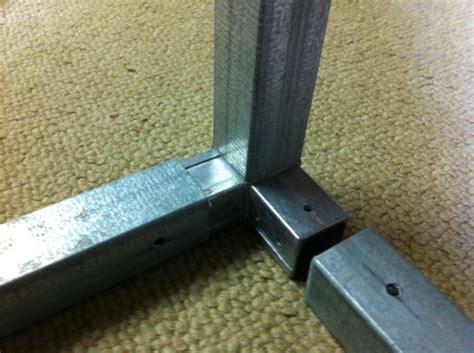 4 kant rohr edelstahl aluminium 4 kant rohr verbinder metallteile verbinden