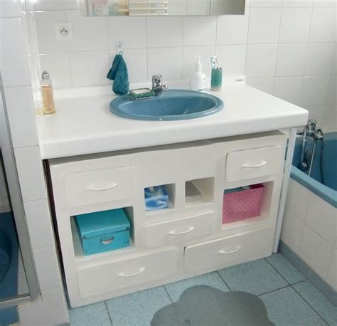 meuble sous lavabo photo de etageres rangements so