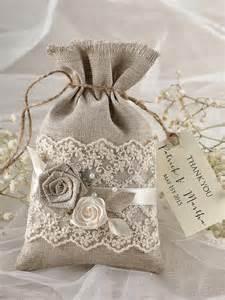 wedding gift bags rustic wedding favor bag lace wedding favor bag 2218168 weddbook