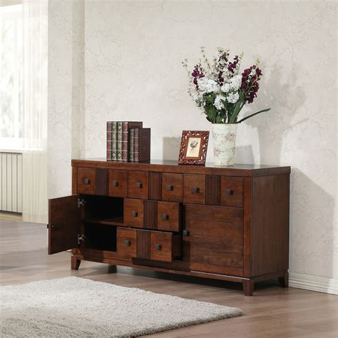 buffet cabinet midcentury modern storage console table