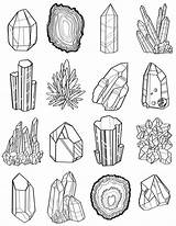 Coloring Pages Stones Precious Adult Gems sketch template