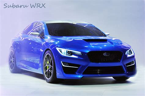 New Subaru Wrx Will Be Introduced At The Detroit Show This