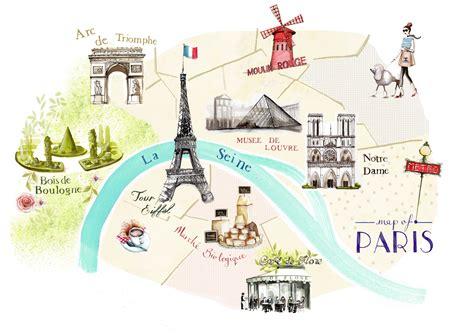 paris city map illustration anazhthsh google skitsa