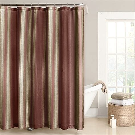 rust shower curtain rust shower curtain by poptopia1 rust color bathroom