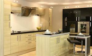 designs modern kitchen design with wooden furniture and With modern small kitchen design photos