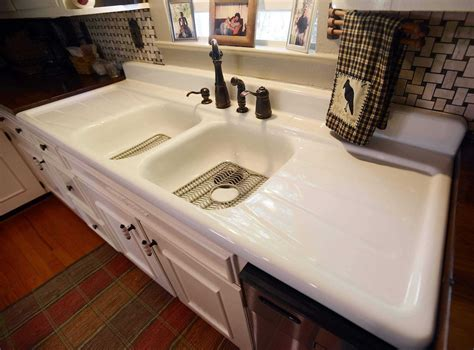 kitchen sinks with drain boards contemporary kitchen sink with drainboard kitchen 8599