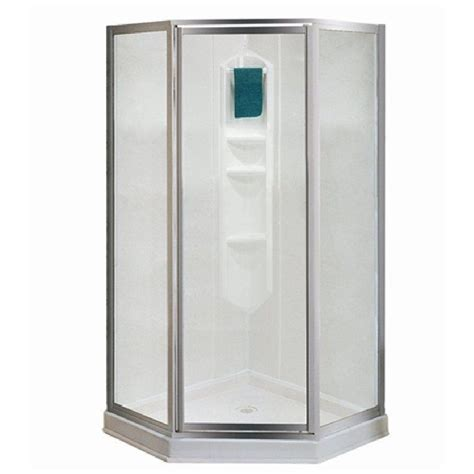 Shower Stalls Canada by Maax Shower Solution 77 In H X 38 In W X 38 In L White Neo