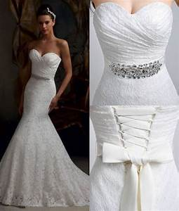 vintage white ivory lace mermaid wedding dresses bridal With ebay vintage wedding dresses