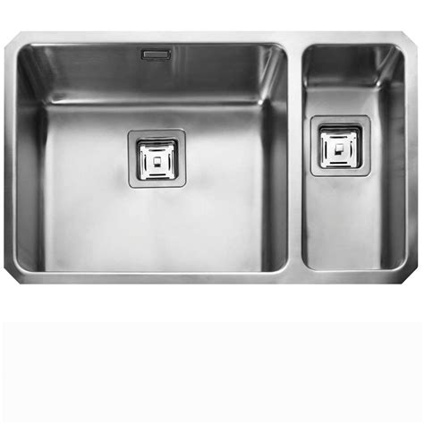 rangemaster kitchen sinks rangemaster atlantic qub4818 stainless steel sink 1721