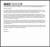 Sample Cover Letter For A Marketing Job LiveCareer Marketing Cover Letter Sample Internship Focus Marketing Internship Cover Letter 13 Samples Examples Formats 28 Perfect Resume Templates For Internship Students