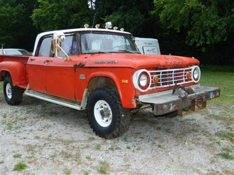 For sale worldwideover 115 full size pictures to view click this link below. 1970 Dodge Power Wagon Crew Cab D-200 for sale: photos ...