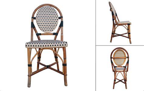chaises de bistrot chaise bistrot parisien