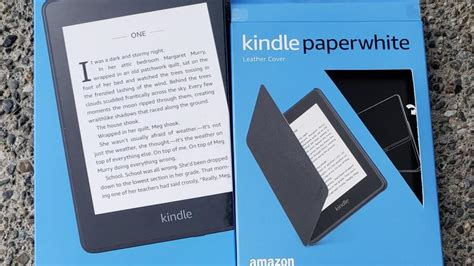 2018 kindle paperwhite review read in comfort at the pool or review zdnet