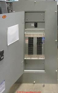 Identify Westinghouse Electrical Panels  Westinghouse V