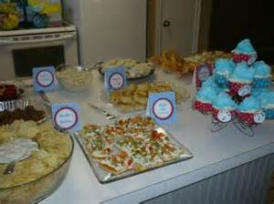 Dr. Seuss Baby Shower Food Ideas